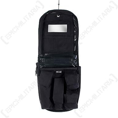 d9c6ca1ef7 Mil-tec Black Travel Wash Bag  Amazon.co.uk  Clothing