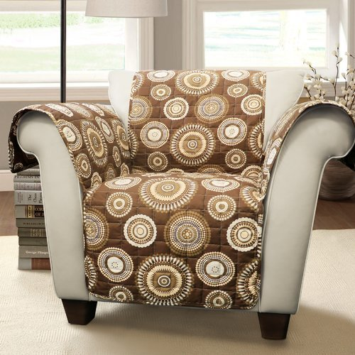 Winston Porter Single T-Cushion Arm Chair Slipcover from Unknown