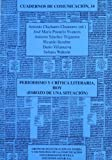 img - for Periodismo y cr tica literaria hoy: : esbozo de una situaci n book / textbook / text book
