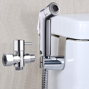 Joyway Hand Held Bidet Sprayer Kit Toilet Attachment Baby Cloth Diaper Sprayer Set Bidet Attachments Amazon Canada