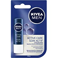NIVEA MEN Active Care Lip Balm Stick, 4.8 g