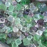 Merssavo 100g Natural Rare Fluorite Crystal Stone Rock Gemstone Specimen Home Decor