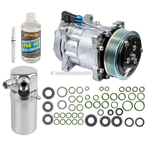 Nueva Original AC Compresor & embrague + a/c Kit de reparación para Chevrolet &