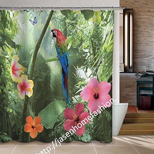 Woodland Bamboo Curtain - 1