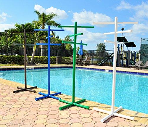 pool u0026amp spa towel rack bronze premium extra tall towel tree outdoor pvc