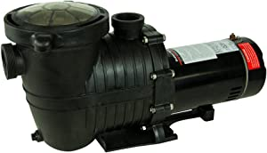 "Rx Clear Mighty Niagara Pump | for In-Ground Swimming Pools | Single Speed | 1.5 HP Pump | Electrical Hookup 115 Volt/230 Volt, 230 Volt Set at Mfg | 1 ½"" Plumbing Connections"