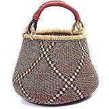 Fair Trade Ghana Bolga African Gambibgo Pot 14-16'' Across, #44346