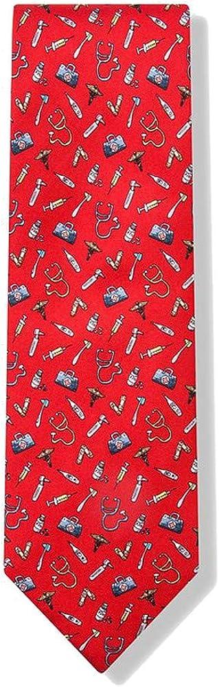 Im A Doctor Medical Supplies Tie Necktie Mens 100/% Silk Trust Me