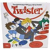 crayfomo Jeu de Société - Twister /Jeux de fête de Twister Jeux de Famille d'enfant pour des Jouets d'enfants