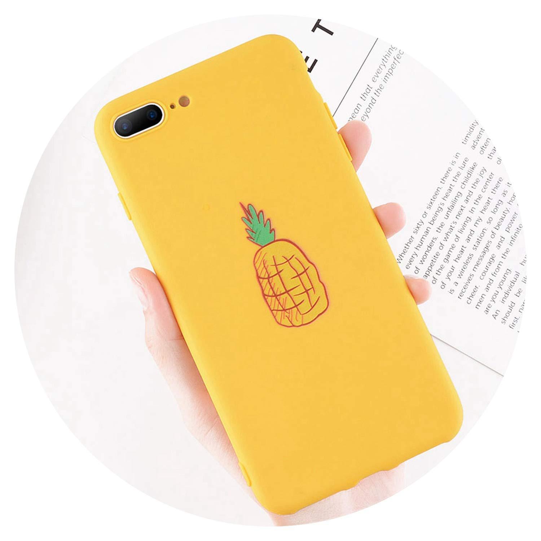 watch f7a79 9665b Amazon.com: Funny Cartoon Giraffe Phone Case for iPhone 7 8 Plus TPU ...
