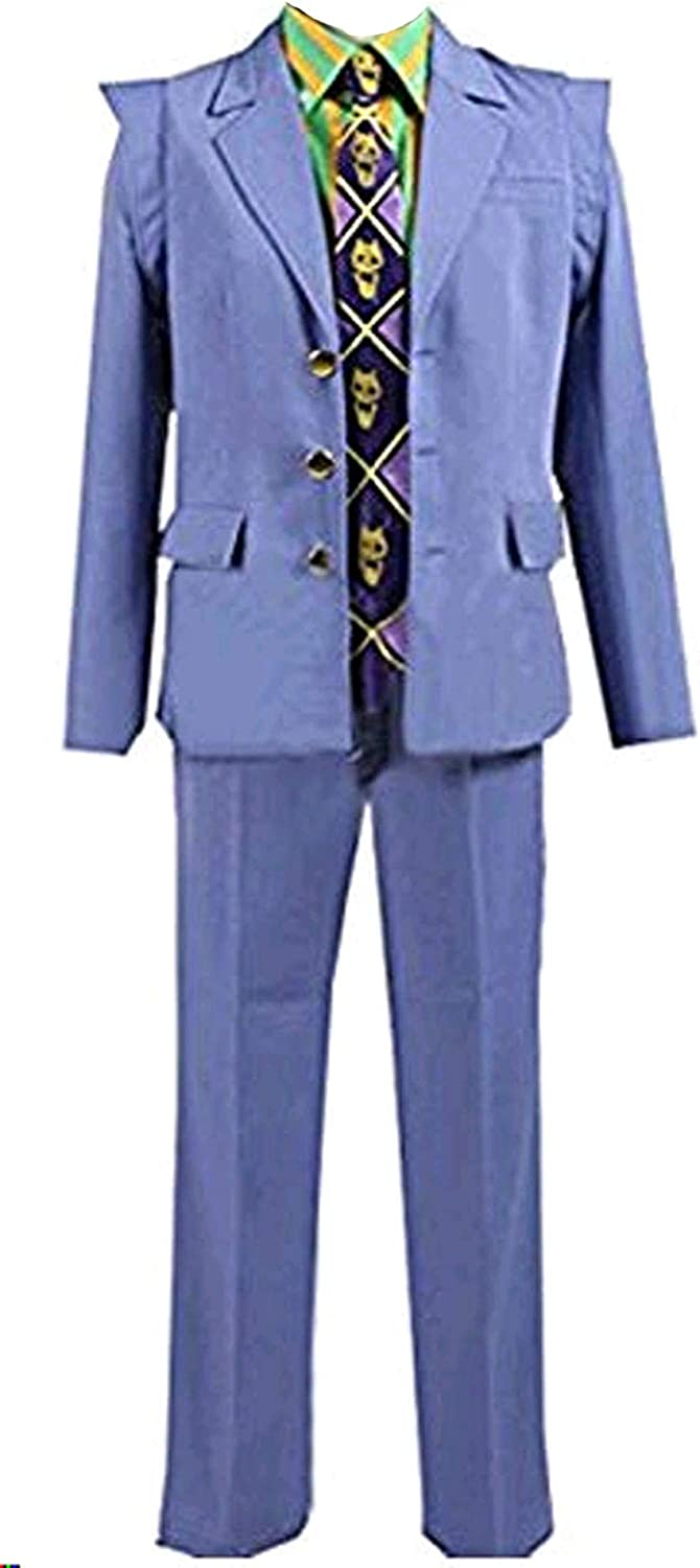 Cosnew Halloween Kira Yoshikage Party Jacket Outfits Costume-Made