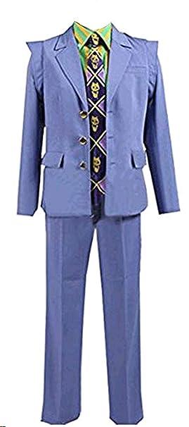 Amazon.com: vicwin-one Anime Kira Yoshikage chamarra traje ...