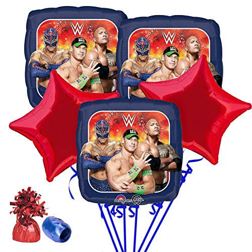Costume SuperCenter WWE Balloon Bouquet Kit by Costume SuperCenter