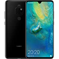 Huawei Mate 20 Smartphone, 128 GB 6.53-Inch 2K FullView Android 9.0 SIM-Free Smartphone with New Leica Triple AI Camera and Ultra Wide Angle Lens, Black