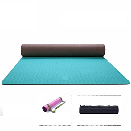 Amazon.com : DHG Yoga mat, beginner fitness mat, widened ...