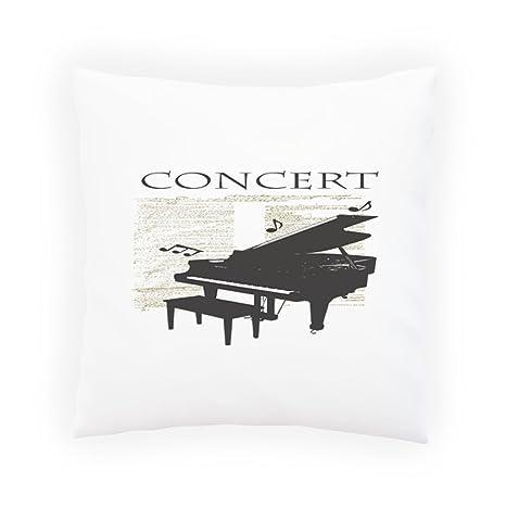 INNOGLEN Concierto de Piano Notas Musicales Almohada ...