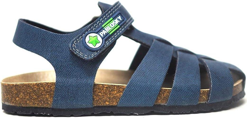 Sandalias para niño y niña Unisex Fabricadas en España Pablosky 596420 Vaquero Jeans Oscuro - Color - Jeans, Talla - 29: Amazon.es: Zapatos y complementos