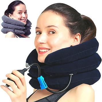 medized inflable cuello Cervical tracción dispositivo mejorar ...