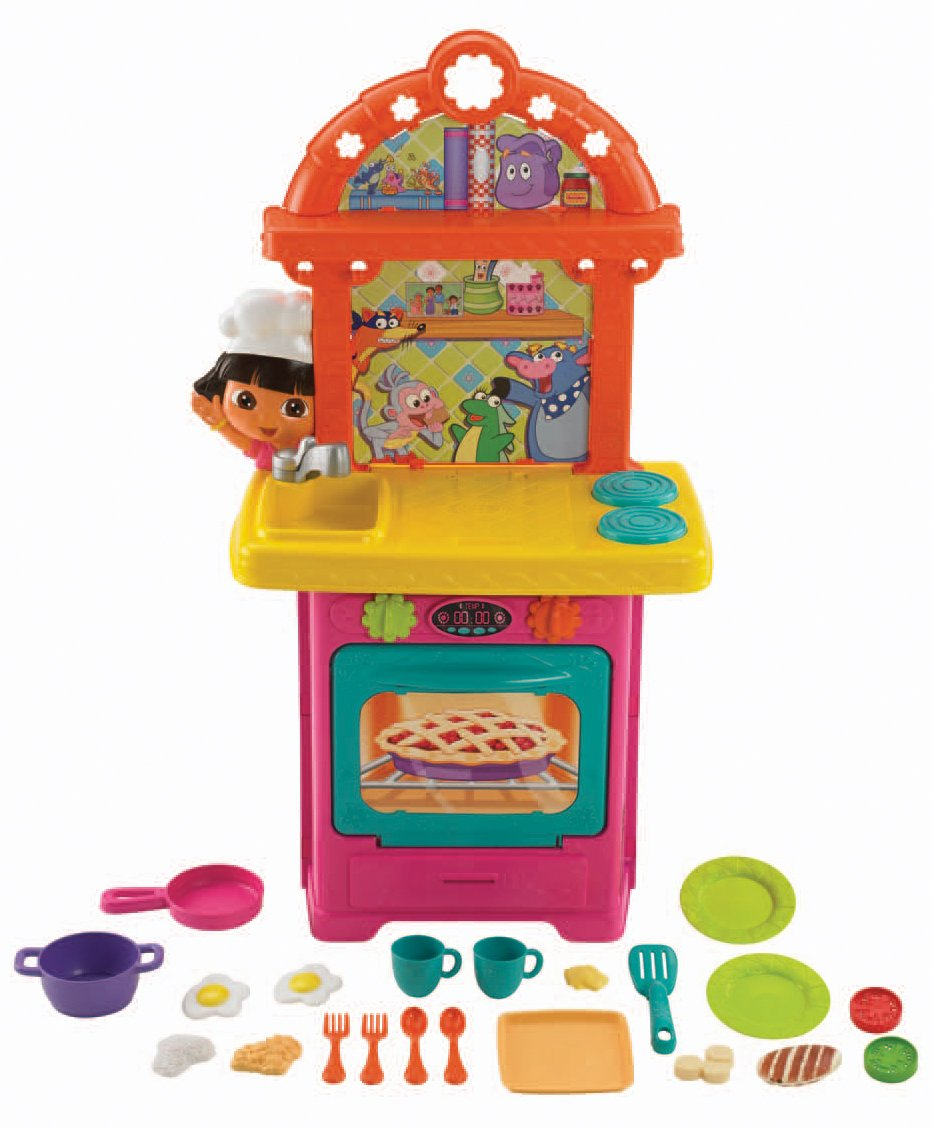 amazon com nickelodeon fisher price dora the explorer sizzling rh amazon com dora the explorer kitchen set target dora the explorer kitchen walmart