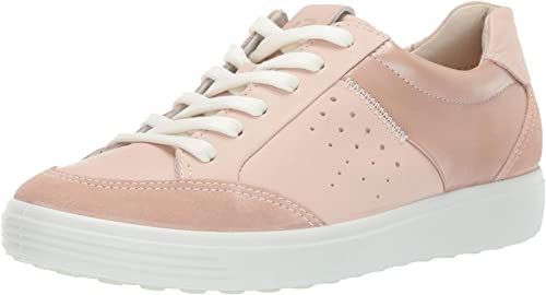 ecco soft 7 perforated sneaker