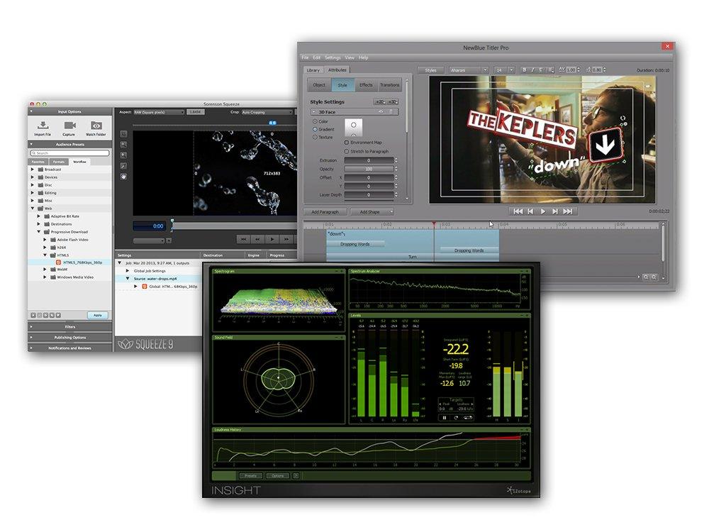 Avid 99356575600 Media Composer Software Production Partner Pack