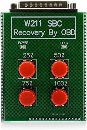 Wooya R/écup/ération Automatique De Outil De R/éinitialisation OBD Abs Sbc pour Mercedes Benz W211 R230