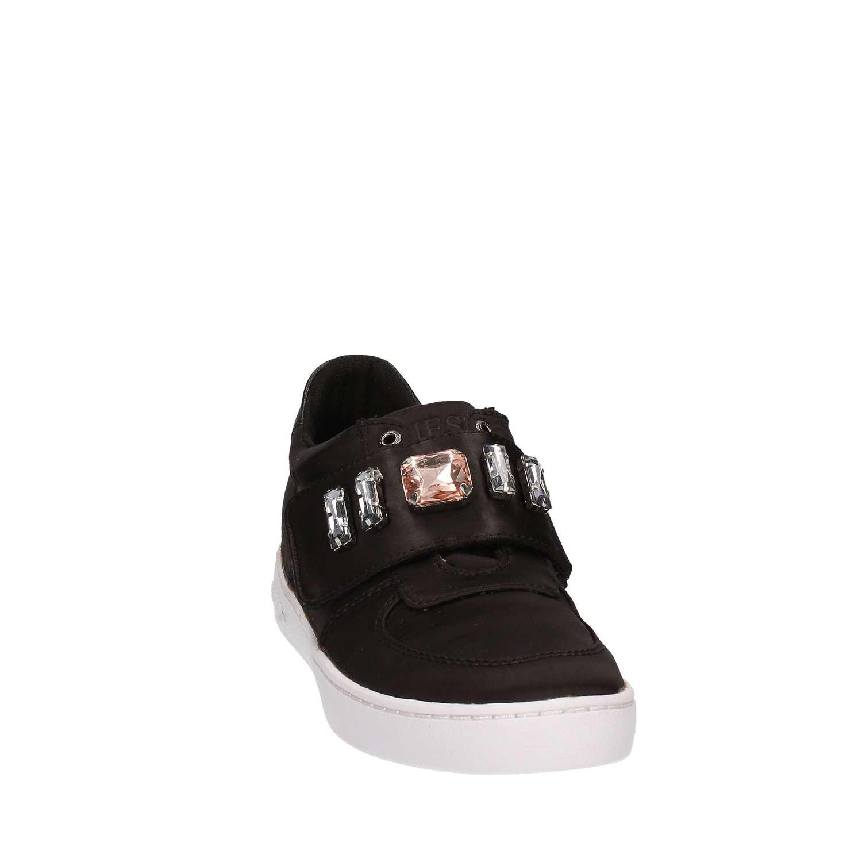 Guess FLFLO1-SAT12 Sneakers Damen Gewebe Gewebe Damen schwarz a98b44
