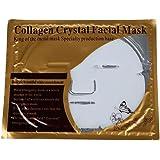 SODIAL(R) Masque Soins Visage Collagene Cristal Feuilles Anti Rides Femme Cosmetique