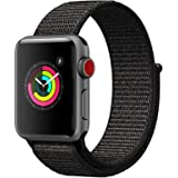AIGENIU コンパチブル Apple Watch バンド、ナイロンスポーツループバンド Apple Watch Series4/3/2/1に対応