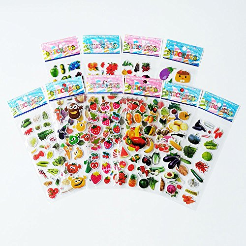 fruit and vegetable stickers - 5
