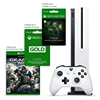 Xbox One S 1TB 3 meses de Gold & 3 meses de Gamepass com Kit Exclusivo Amazon