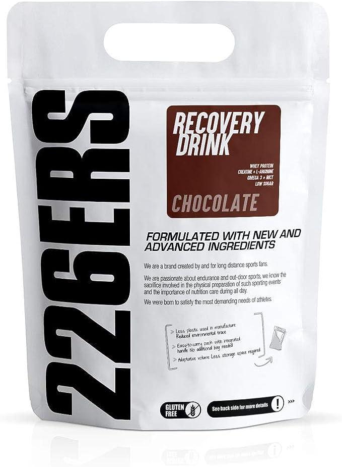 226ERS Recovery Drink, Recuperador Muscular con Proteína Whey ...