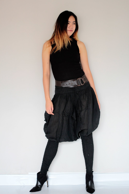 Hippie Pants.Black (S-M)