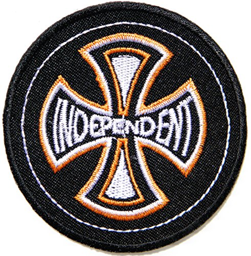 INDEPENDENT Cross Logo Rider Biker Chopper Jacket Patch Sew Iron on Embroidered Badge - Eyewear Logo Design