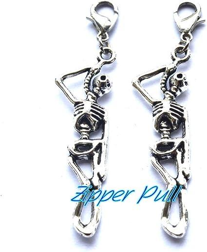 Metal Cross with Multi Color Rhinestones  Key Ring//Purse Charm// Zipper Pull