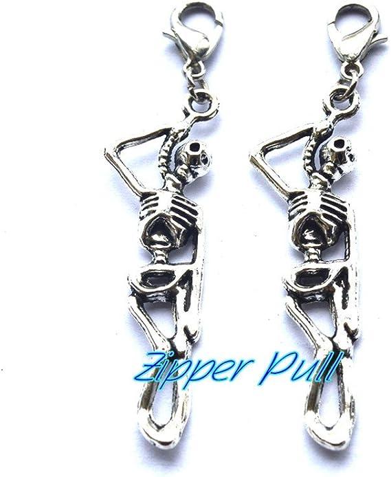 Zipper Pulls Sunflower Zipper Pull Charm Zipper Charms Knitting Progress Keepers Zipper Pull Zipper Pulls for Purses Sunflower Gifts