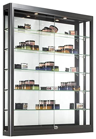 Amazon Wall Mounted Display Case With Height Adjustable Glass
