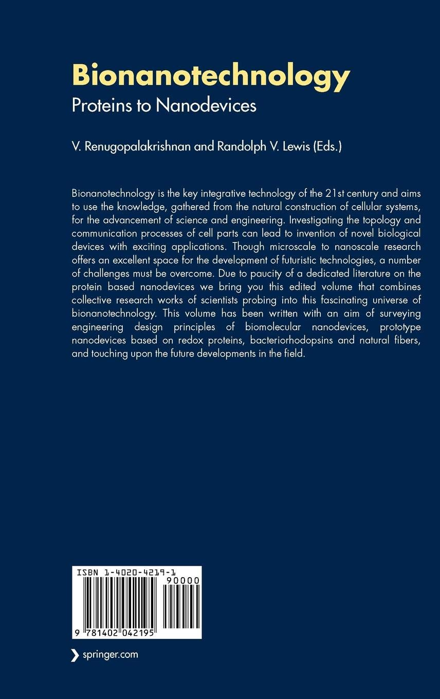 Bionanotechnology: Biological Self-assembly and its Applications | Book