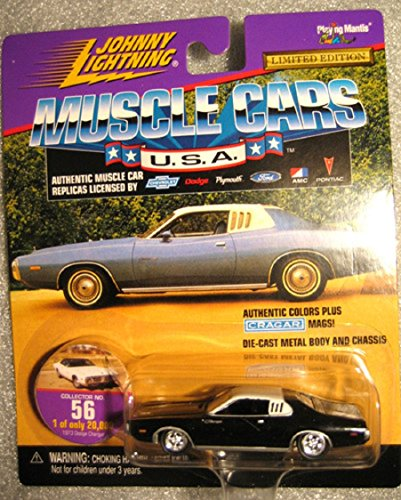 Johnny Lightning Racing Legends (Marty Robbins #42 Marty Robbins Racing 1973 Dodge Charger In Purple Diecast 1:64 Scale Stock Car Legends By Johnny Lightning)
