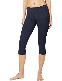 785239df511 Baleaf Women s Yoga Workout Capris Leggings Side Pocket for 5.5