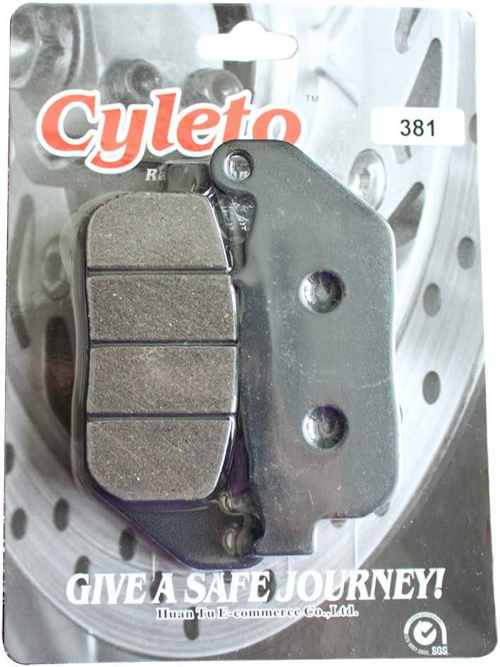 Cyleto pastiglie freno anteriore per Harley Davidson XL1200/R XL1200R XL 1200/R Sportster Roadster 1200/2004/2005/2006/2007/2008