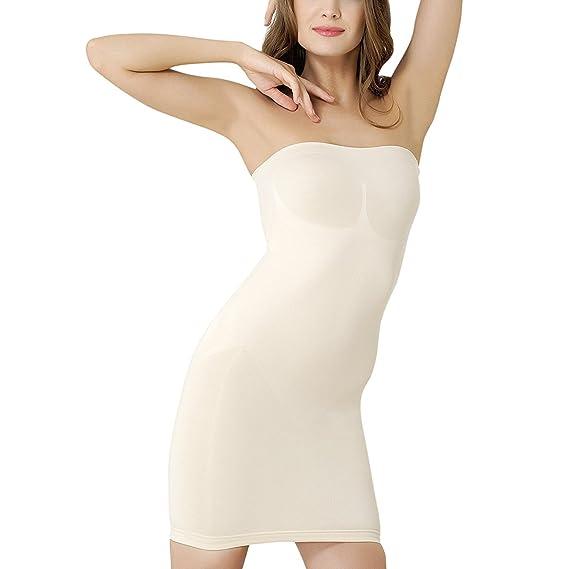 2332d22d84 Formeasy Shapewear Women s Shaping Full Slip - Beige - Beige - Large ...