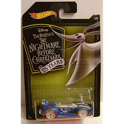 Quick 'N SIK Zero Dog 5/8 Nightmare Before Christmas HOT Wheels DIECAST 2020: Toys & Games