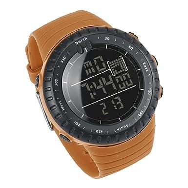 Para la práctica de deportes reloj, hosamtel Digital ejército Militar reloj de pulsera de cuarzo