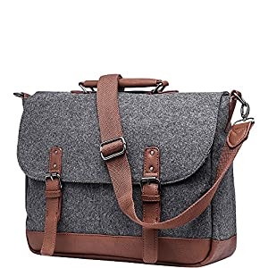 Amazon.com: Something Strong Wool Messenger Bag with Laptop ...