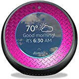 MightySkins Skin Amazon Echo Spot - Pink Diamond Plate | Protective, Durable Unique Vinyl Decal wrap Cover | Easy to Apply, Remove Change Styles | Made in The USA