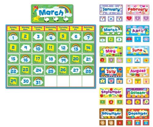 - Carson Dellosa Complete Calendar Kit Bulletin Board Set (110113)