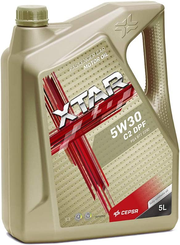 CEPSA 513963077 5W30 C2 DPF 5L-Lubricante Sintético para Vehículos Gasolina y Diésel: Amazon.es: Coche y moto