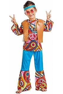 Disfraz Hippie Chaleco TALLA 7-9: Amazon.es: Ropa y accesorios