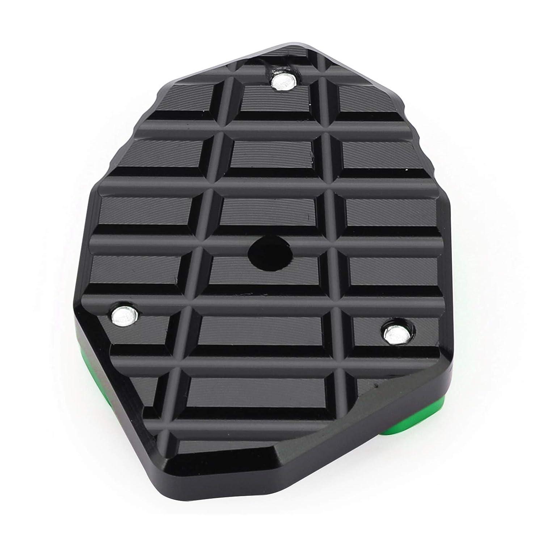 Areyourshop Kickstand Soporte lateral placa de extensi/ón Pad para Ka-wa-sa-ki Z650 Z1000SX 17-19